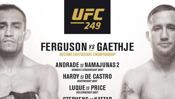 Tony Feguson vs Justin Gaethje.