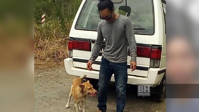Seorang pria bikin heboh. Dia berjalan kaki 123 km dari Bandara Internasional Kota Kinabalu menuju rumahnya di Kota Marudu setelah ia kembali dari Jepang.