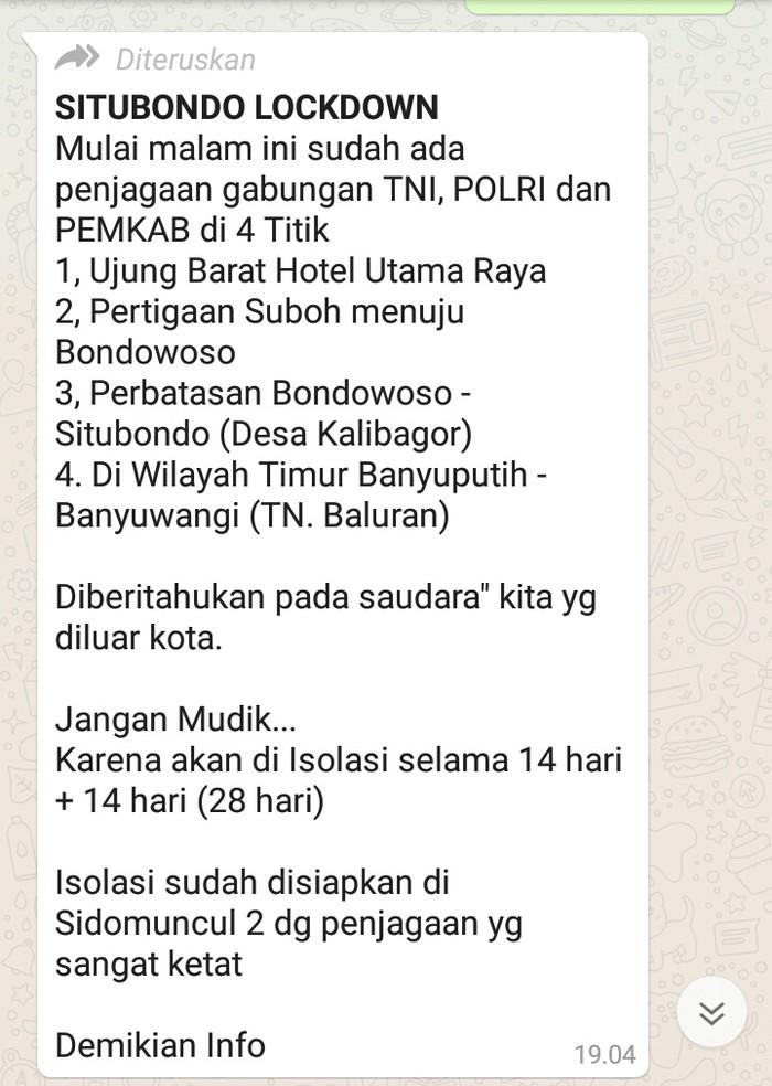 Gugus Tugas COVID-19 Kabupaten Situbondo