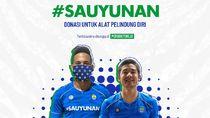 #Sauyunan, Cara Persib Galang Dana untuk Donasi APD ke Tenaga Medis