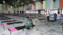 Baru Tiba, Sebagian TKI dari Malaysia Dikarantina di Lanud Soewondo Medan