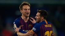 Dianggap Ejek Messi, Rakitic Menuju Pintu Keluar Camp Nou?