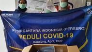PTDI Berikan Bantuan APD untuk Tenaga Medis di RS Bandung Raya