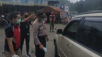 Jelang PSBB di Jakarta Besok, Mobil dari Luar Kota Dilarang Masuk ke Cianjur