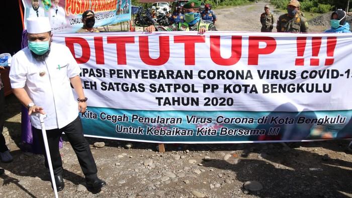 Bekas lokalisasi di Bengkulu ditutup lagi (Hery-detikcom)