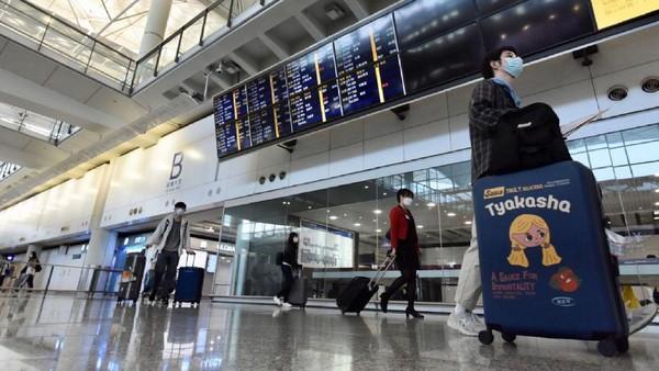 Kemudian ada Bandara Hong Kong di peringkat 4. Posisinya tidak berubah dari tahun lalu(Getty Images)