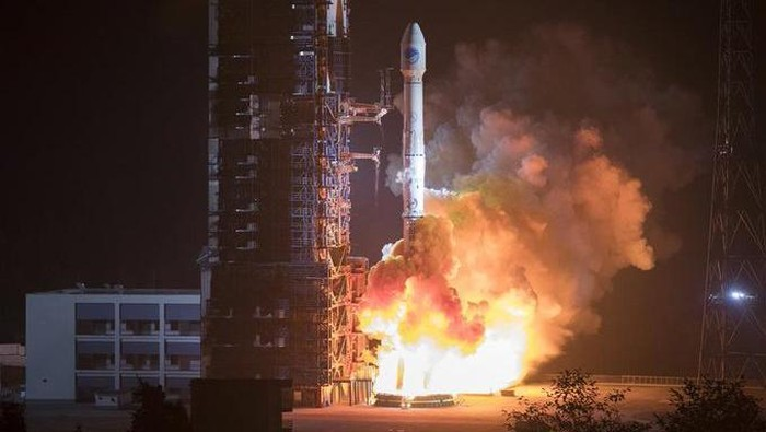 Satelit Palapa Nusantara Dua yang Gagal ke Orbit