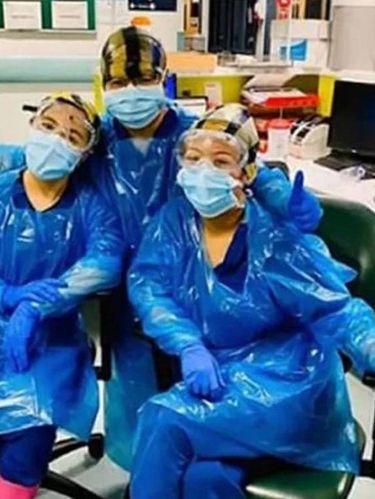 Perawat tanpa APD memadai terpapar virus Corona.