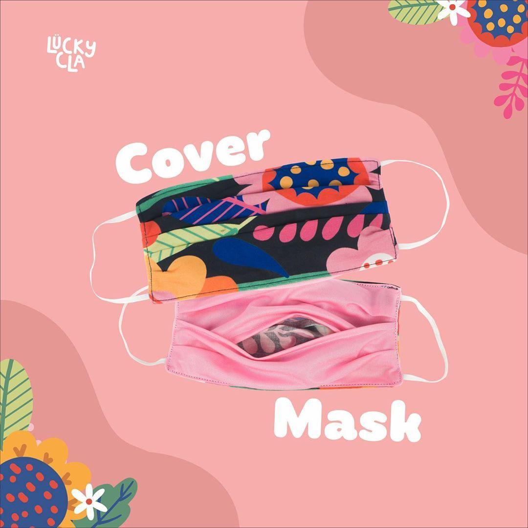 Masker Kain dari Brand Lokal yang Bisa Dipakai Ulang