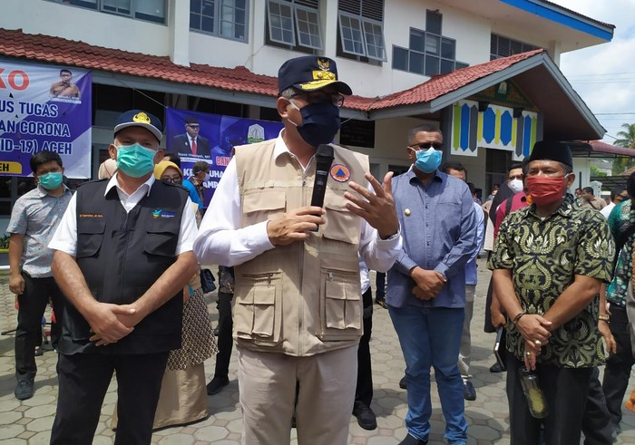 Plt Gubernur Aceh Nova Iriansyah (Agus Setyadi-detikcom)