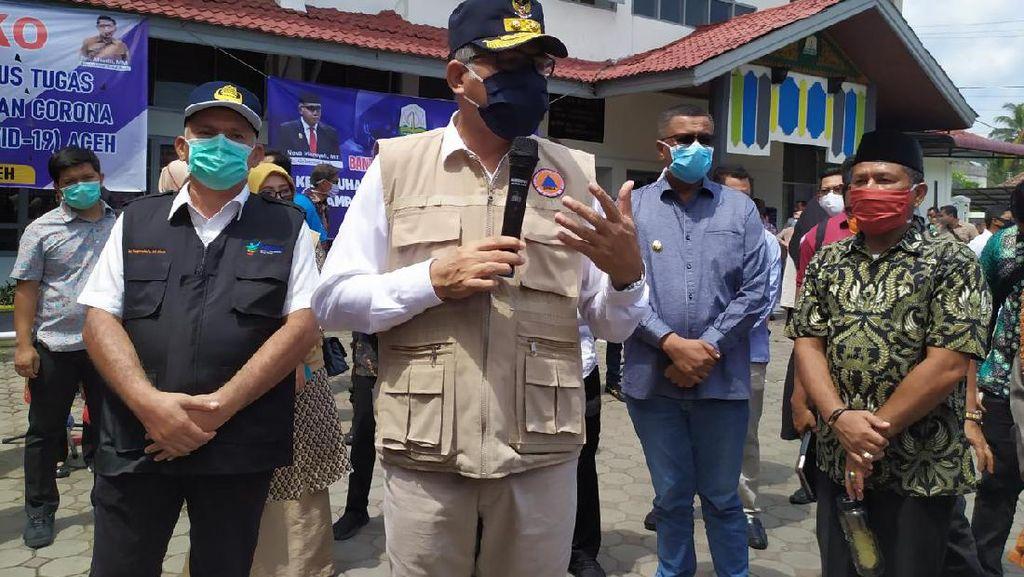 Gubernur Aceh Siap Jadi yang Pertama Disuntik Vaksin COVID-19