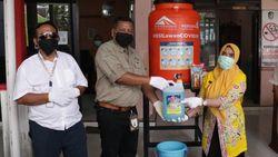 Puluhan Tempat Cuci Tangan Portabel Didistribusikan Warga Banyuwangi