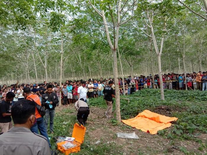 Penemuan mayat di Simalungun (dok. Istimewa)