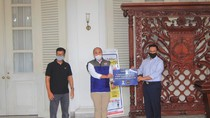 Pengusaha Sumbang 15.000 Masker ke Pemprov DKI Jakarta