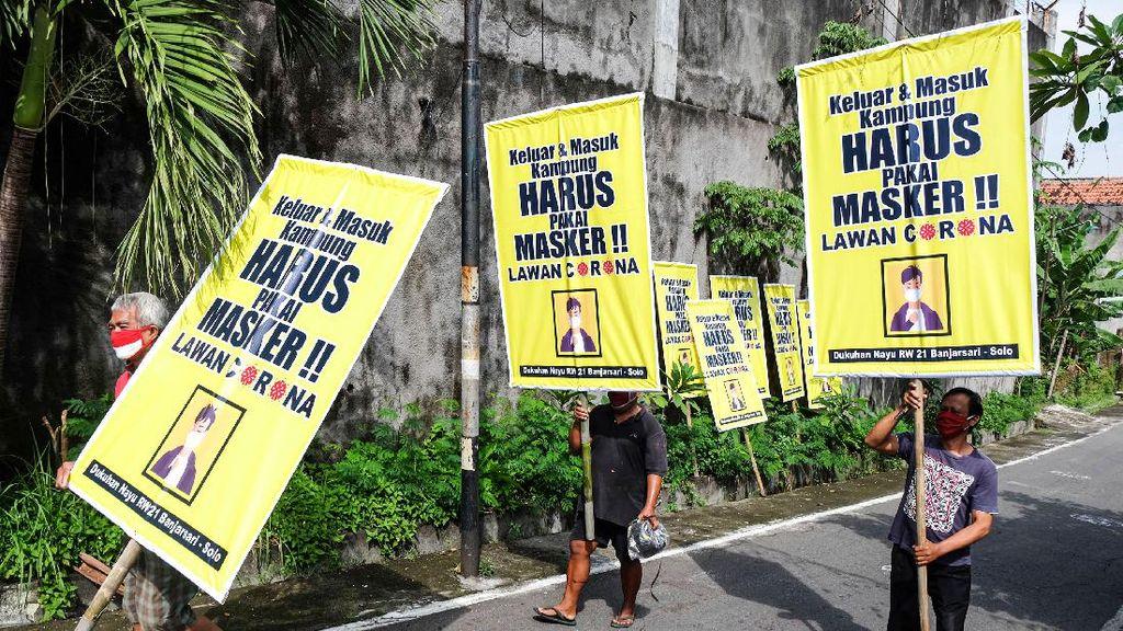 Poster Himbauan Memakai Masker