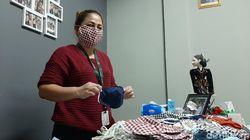 Penjahit di Kota Bogor Produksi 5.000 Masker Kain Gratis untuk Warga