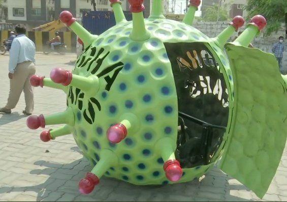 Mobil Virus Corona