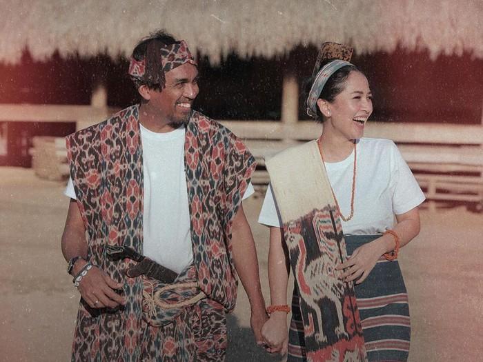 Kemesraan Glenn Fredly dan Mutia Ayu yang kini tinggal kenangan.