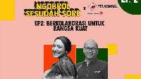 Live IG Bareng Putri Tanjung, Bos Telkomsel Ungkap Jurus Lawan Corona