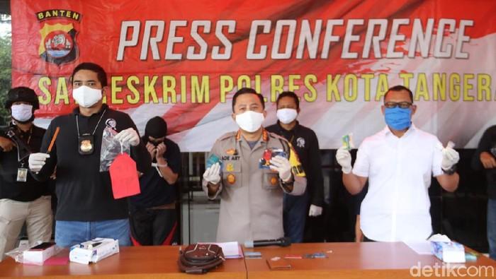 Polresta Tangerang Tangkap Pembobol ATM
