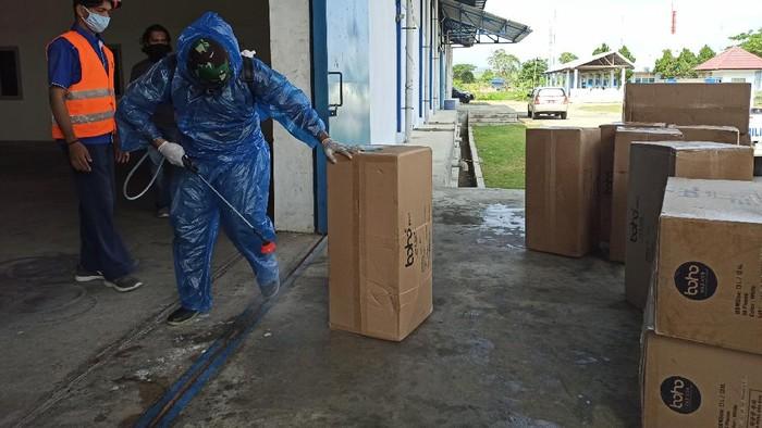 APD-Masker TIba di Aceh Siap Distribusi ke Puskesmas