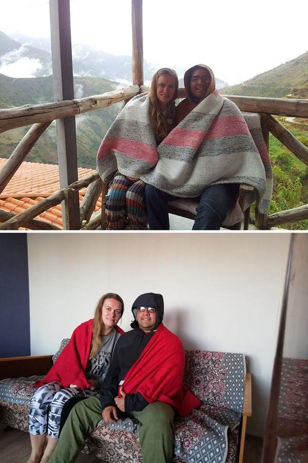 Dulu selimut untuk melindungi dari dinginnya cuaca pegunungan, sekarang untuk melindung dari dinginnya pendingin ruangan.