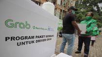 Ada PSBB, Ribuan Mitra Pengemudi Grab Bertahap Terima Paket Sembako