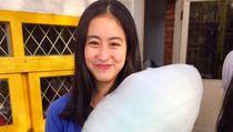 Keseruan Vanessa Surya Saat Makan Gulali hingga Es Dawet