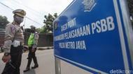Lalin Tol Jakarta Arah Cikampek Macet 1 Km Jelang Pos Pengecekan PSBB