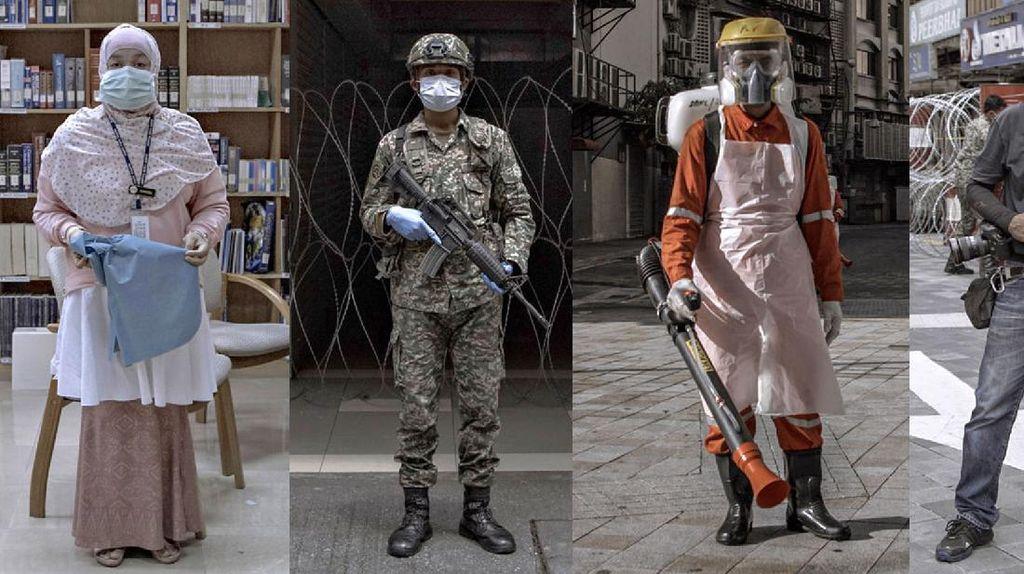 Potret Garda Terdepan Malaysia di Tengah Pandemi Corona