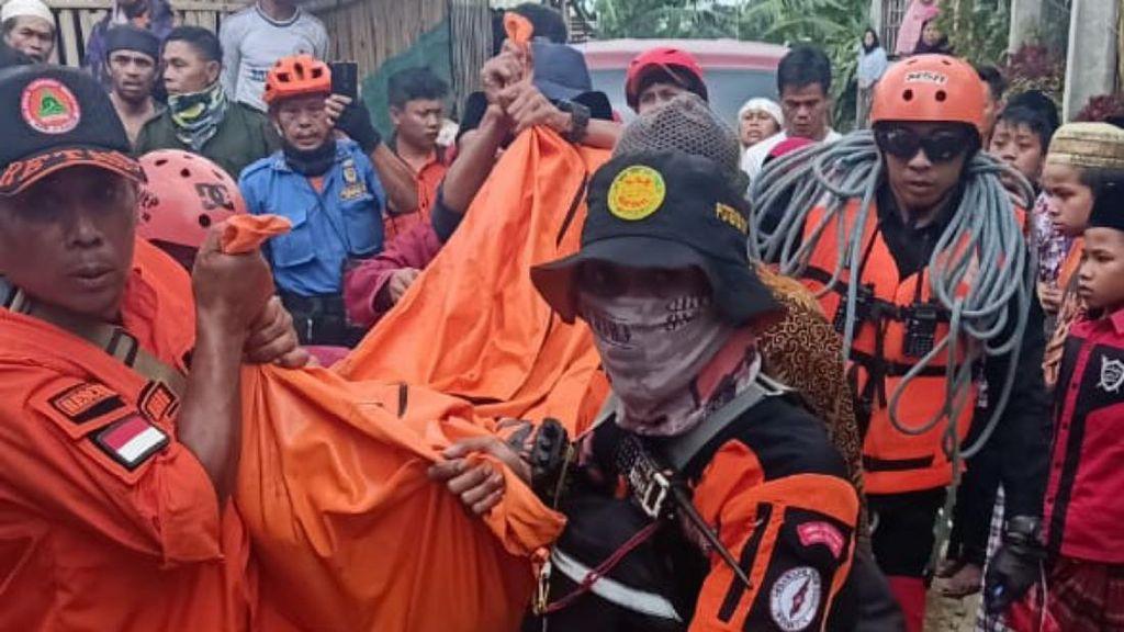 3 Warga Cianjur yang Hanyut Terbawa Luapan Sungai Ditemukan Meninggal