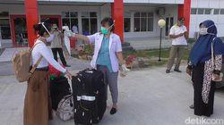 Pulang dari Amerika, Wanita Chef Kapal Pesiar Dikarantina di RS Sulbar