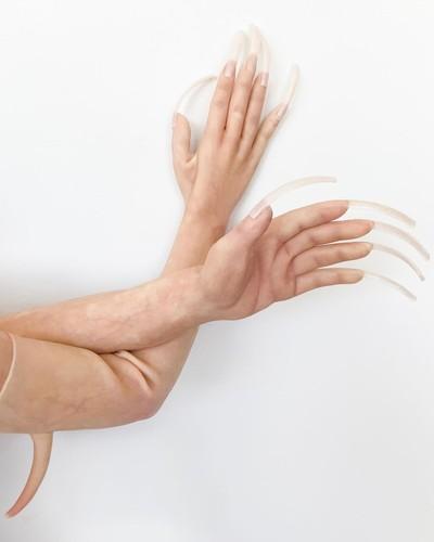 sarung tangan fecal matter