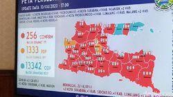 Zona Merah Corona di Jatim Bertambah 4 Jadi 32