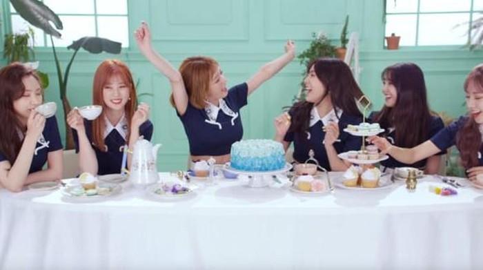 Video Klip Idol K-Pop Bertema Makanan