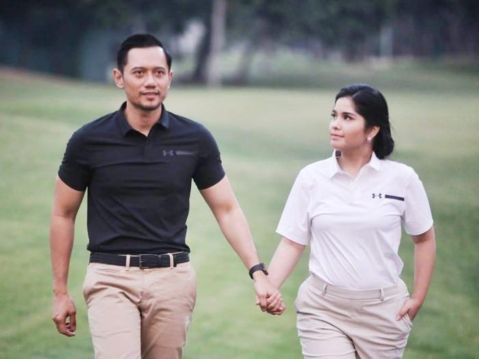 Annisa Pohan dan Agus Yudhoyono