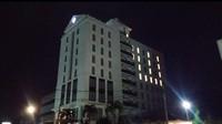 Dukungan di Tengah Corona, Hotel Ini Bentuk Lafadz Allah