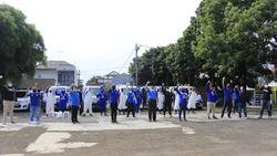 Pimpinan MPR Gelar Kegiatan Sosial Bantu Pencegahan Corona di Bogor