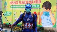 Kala Superhero Berjuang Basmi Corona