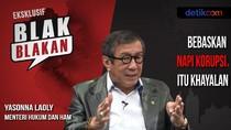 Blak-blakan Menkum dan HAM Yasonna Soal Pembebasan Koruptor