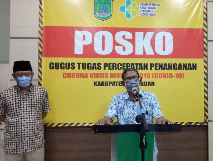 Jubir Satgas COVID-19 Kabupaten Pasuruan, Anang Saiful Wijaya