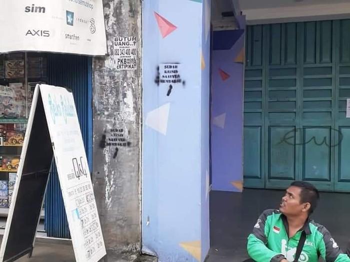 Coretan vandalisme dari kelompok Anarko di Tangerang Kota (dok. Istimewa)
