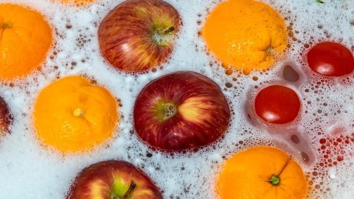 Tips cuci buah dan sayur