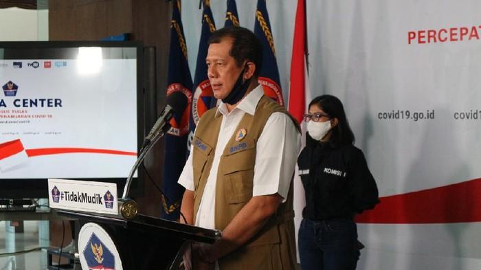 Kepala BNPB/Ketua Gugus Tugas Percepatan Penanganan COVID-19 Doni Monardo