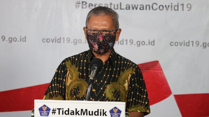 Jubir Penanganan COVID-19 Achmad Yurianto
