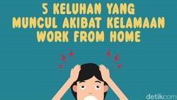 Work from home sebenarnya menawarkan kenyamanan karena lebih leluasa mengatur banyak hal. Tetapi kok malah mengeluh tidak enak badan? Berarti ada yang salah.
