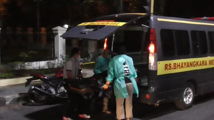 Lokasi pria tiba-tiba tergeletak di Medan (dok. Istimewa)