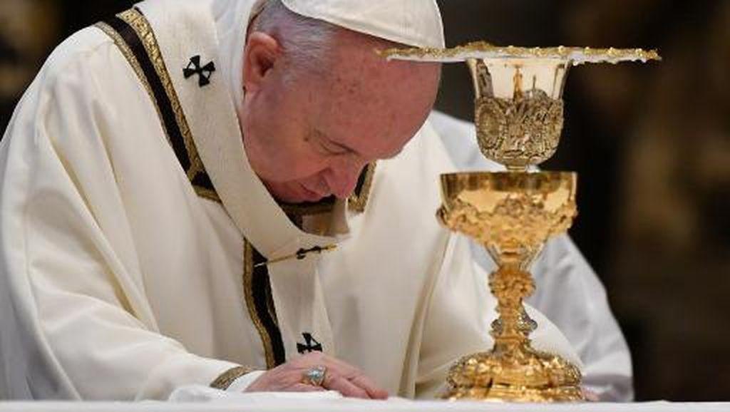 Paus Fransiskus Soal George Floyd: Kita Tak Bisa Mentolerir Rasialisme