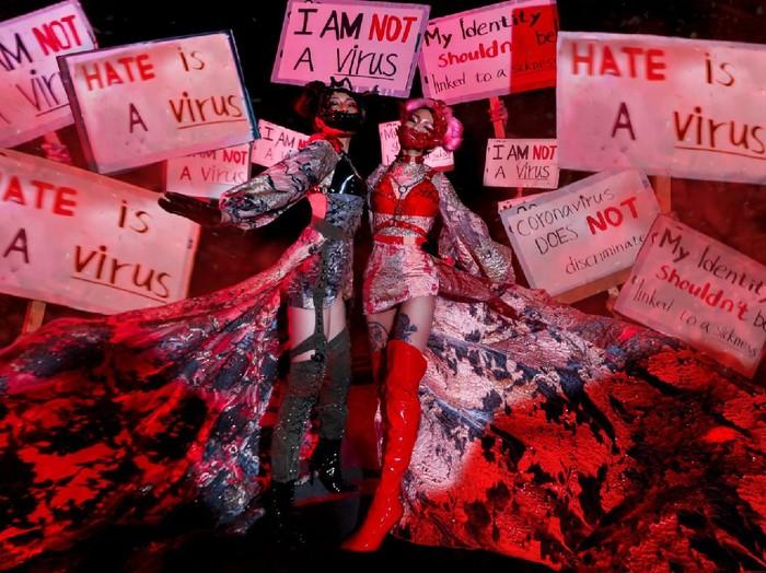 Kampanye #HateIsAVirus