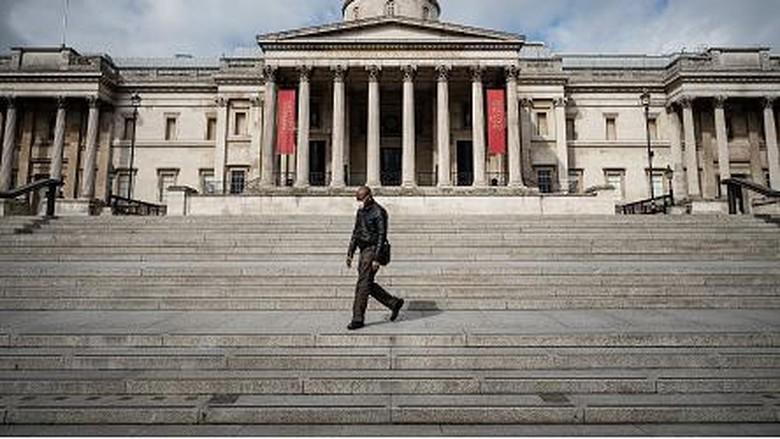 Inggris terapkan pembatasan sosial di wilayahnya untuk putus rantai sebaran Corona. Kota London yang jadi destinasi wisata populer pun kini sepi dari wisatawan.